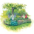 Место встречи - иконка «сад» в Базарных Матаках